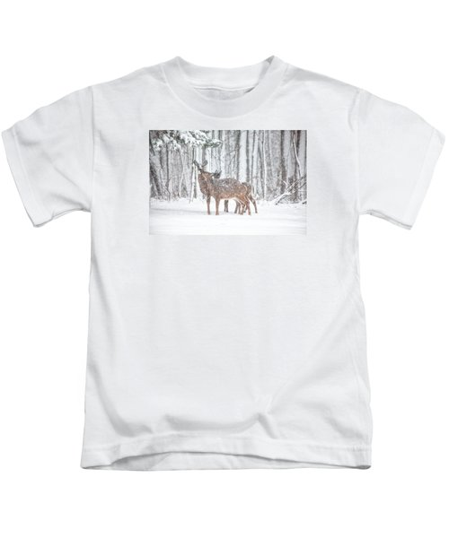 Winters Love Kids T-Shirt