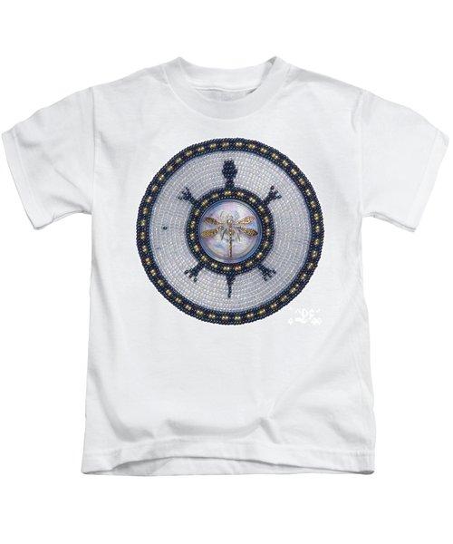 Wishing Pond Turtle Kids T-Shirt