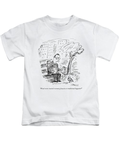 Wood-oven-toasted Rosemary Focaccia Or Kids T-Shirt