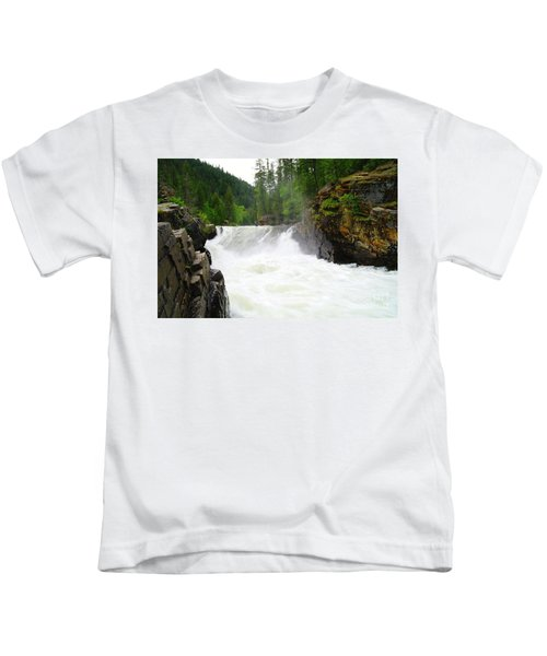 Yaak Falls Kids T-Shirt