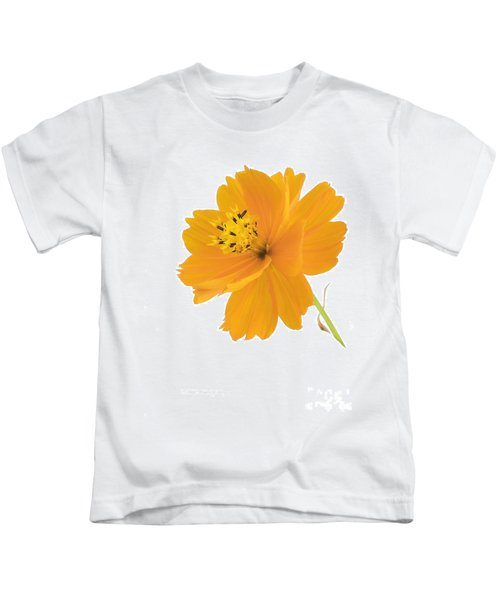 Yellow Coreopsis Kids T-Shirt
