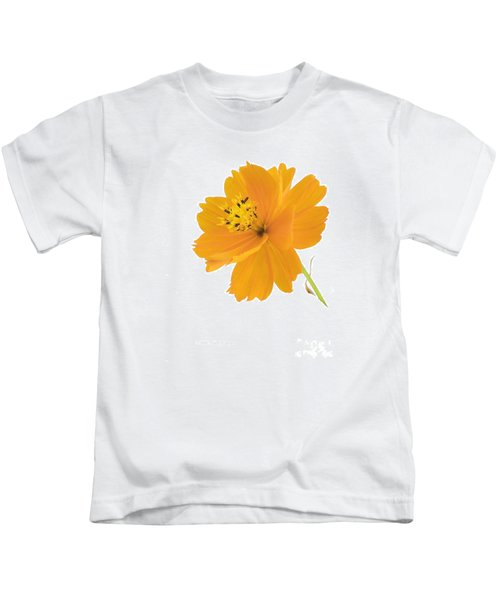 Yellow Coreopsis Kids T-Shirt