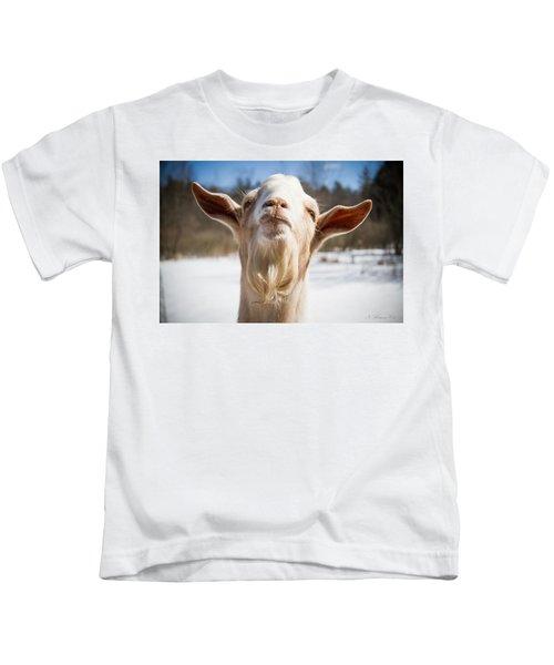 'yoda' Goat Kids T-Shirt