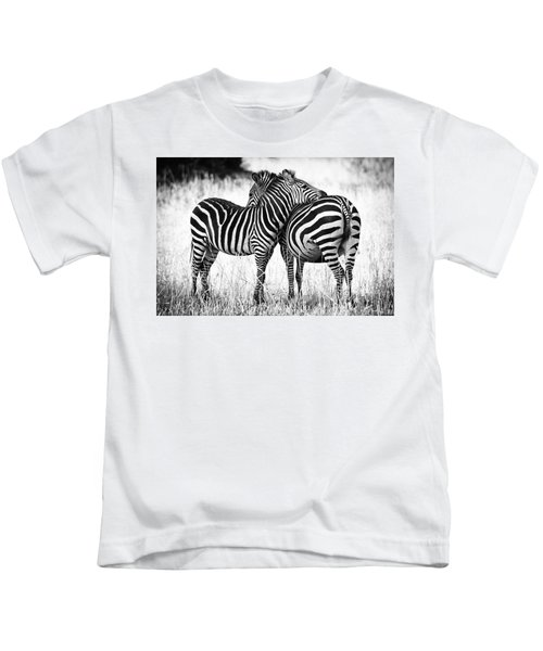Zebra Love Kids T-Shirt