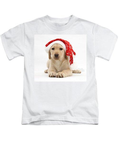 Christmas Puppy Kids T-Shirt