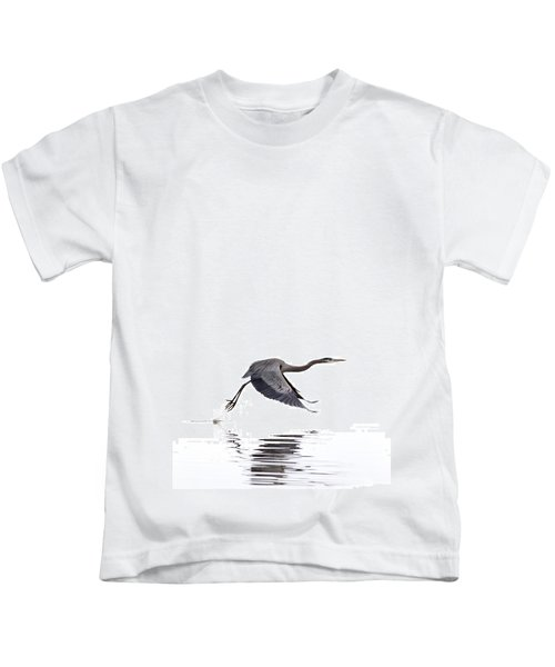 Great Blue Heron Kids T-Shirt