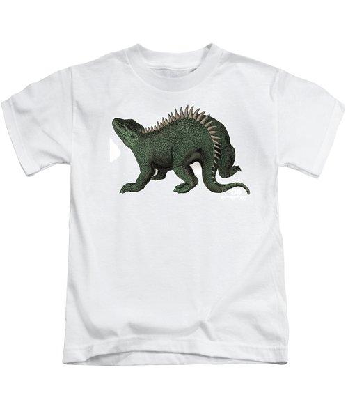 Hylaeosaurus Illustration Kids T-Shirt