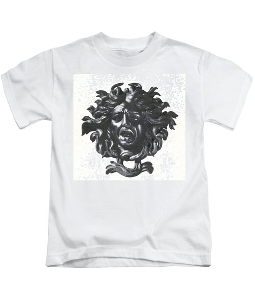 Medusa Head Kids T-Shirt by Photo Researchers