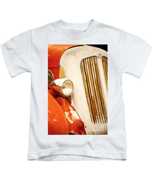 1940's Seagrave Fire Engine Kids T-Shirt