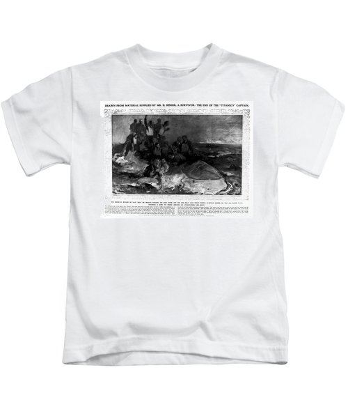 Titanic: Sinking, 1912 Kids T-Shirt