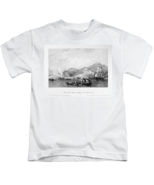 First Opium War, 1842 Kids T-Shirt