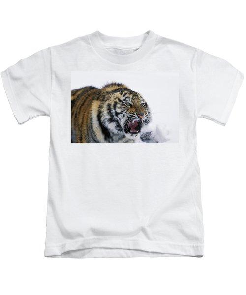 Siberian Tiger Panthera Tigris Altaica Kids T-Shirt