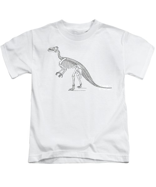Iguanodon, Mesozoic Dinosaur Kids T-Shirt