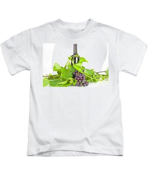Red Wine Kids T-Shirt