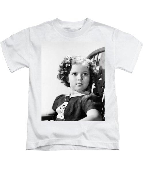 Shirley Temple (1928-  ) Kids T-Shirt by Granger