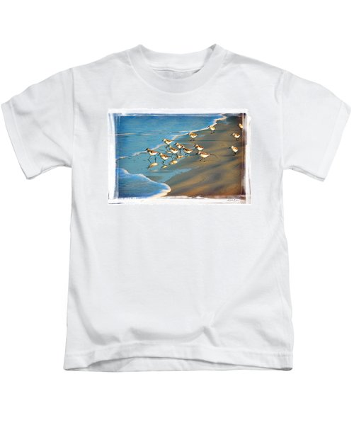 A Bevy Of Pipers Kids T-Shirt