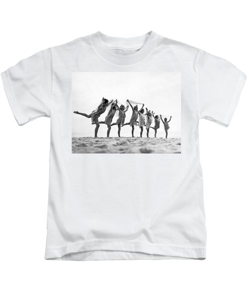 A Dance To The Morning Sun Kids T-Shirt