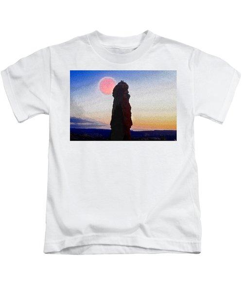 A Great Days End Kids T-Shirt