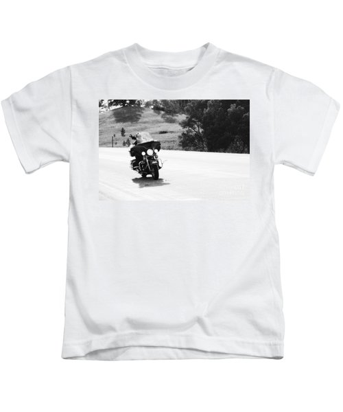 A Peaceful Ride Kids T-Shirt