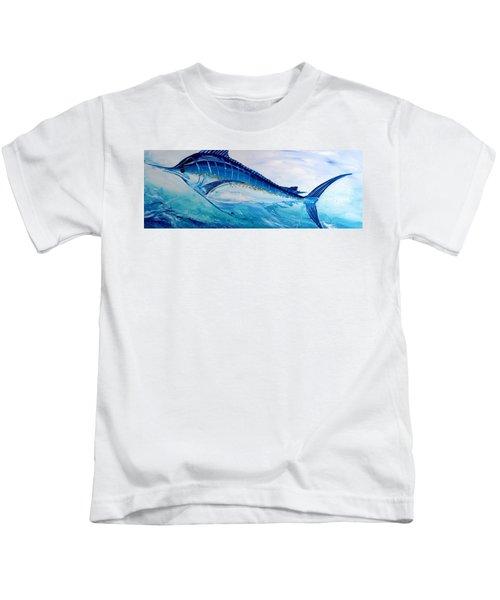 Abstract Marlin Kids T-Shirt