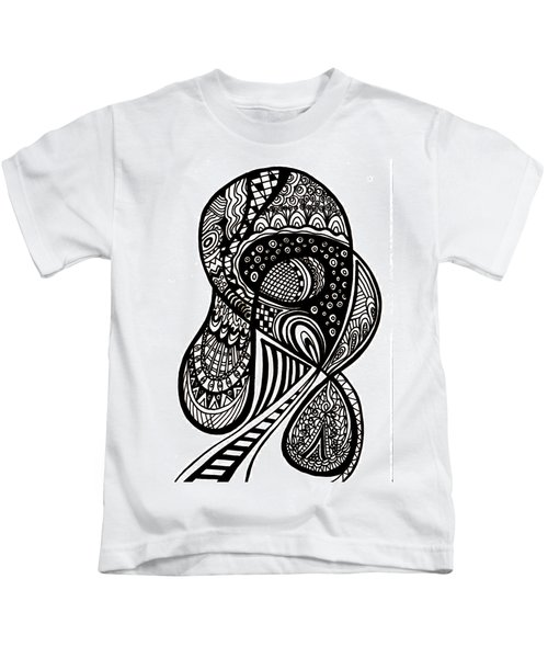Abstract Rounding Kids T-Shirt