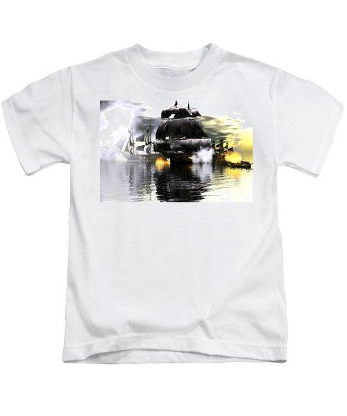 Battle Smoke Kids T-Shirt