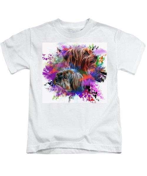 Birthday Boy Shel Kids T-Shirt