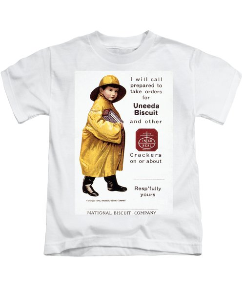 Biscuit & Cracker Ad Kids T-Shirt