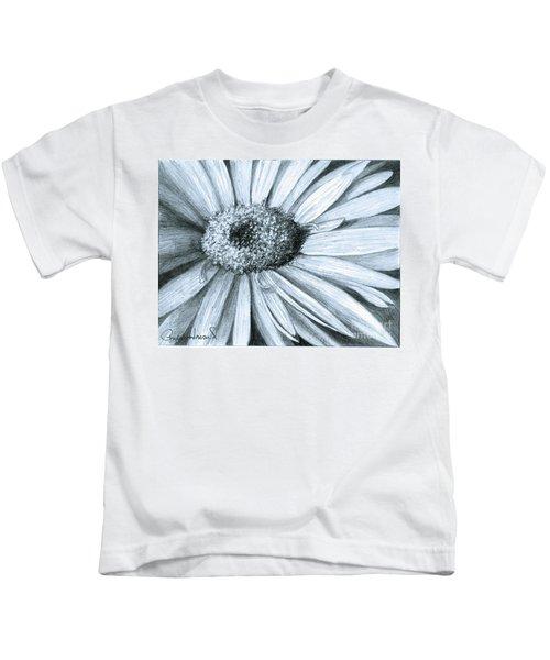Black White Gerber Kids T-Shirt