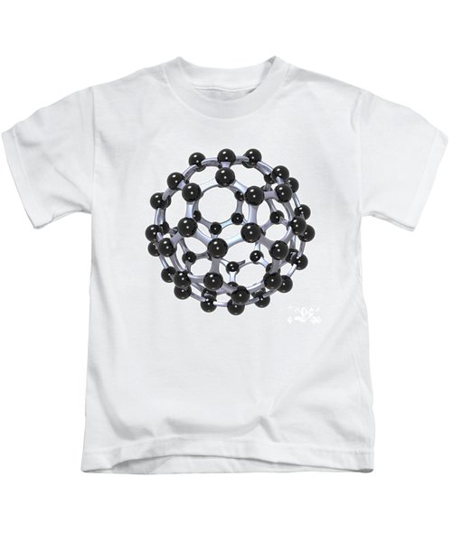 Buckminsterfullerene Or Buckyball C60 18 Kids T-Shirt