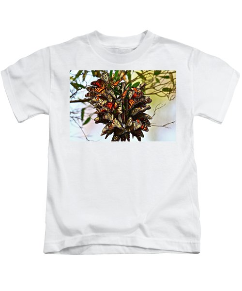 Butterfly Bouquet Kids T-Shirt