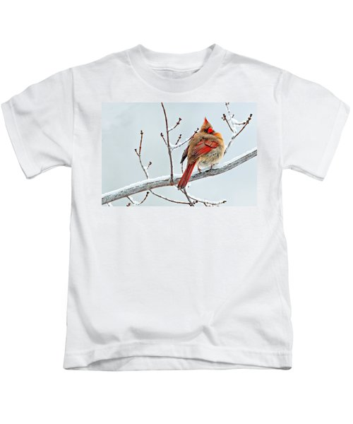 Cardinal I The Snow  Kids T-Shirt