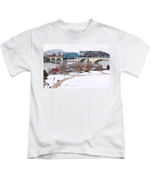Christmas Snow Kids T-Shirt