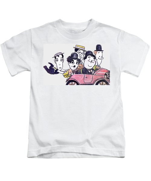 Comedians In Model T Kids T-Shirt