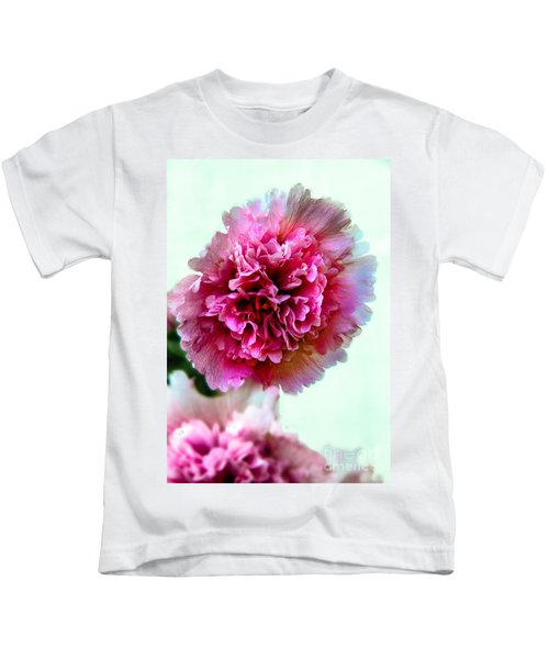 Double Hollyhock Kids T-Shirt