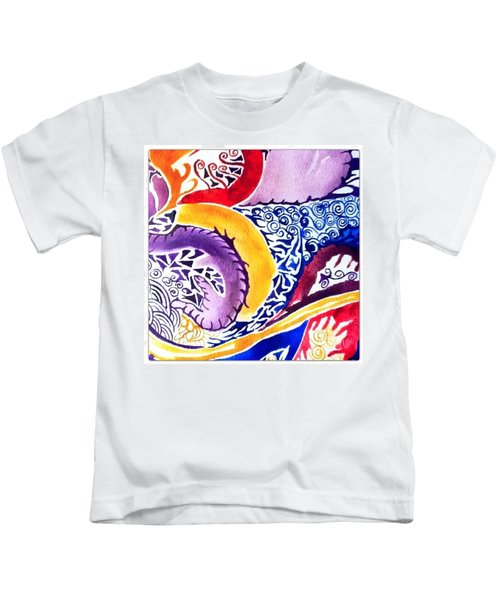 Dreaming In Watercolors Kids T-Shirt