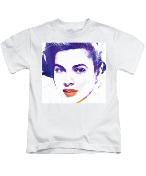 Face Of Beauty Kids T-Shirt