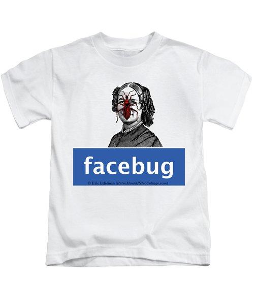 Facebug For Women Kids T-Shirt