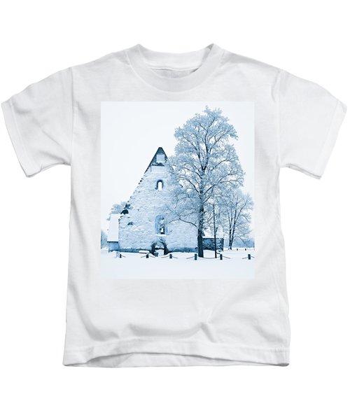 Frosty Ruins Kids T-Shirt