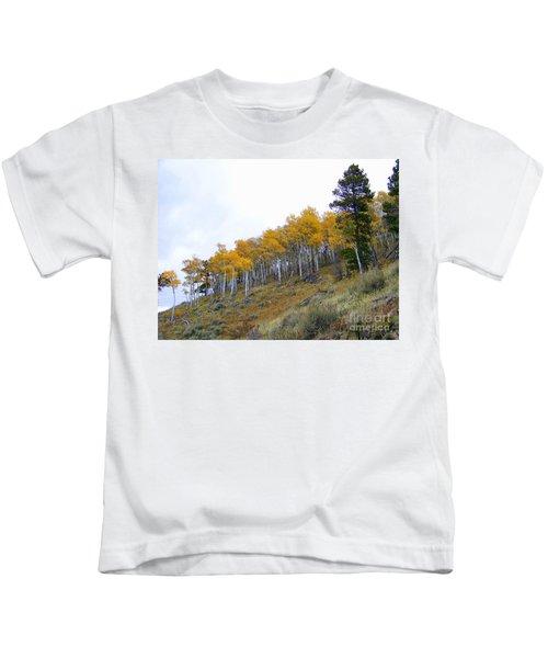Golden Stand Kids T-Shirt