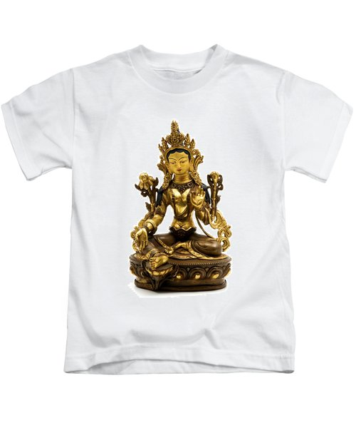 Green Tara Kids T-Shirt
