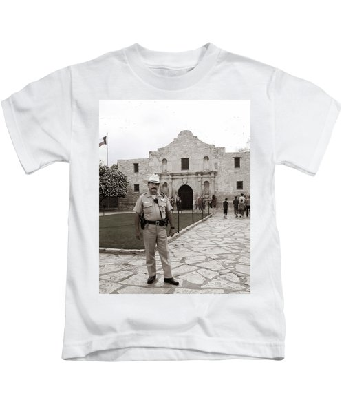 He Guards The Alamo Kids T-Shirt