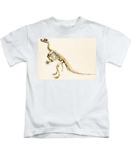 Iguanodon Mesozoic Dinosaur Kids T-Shirt