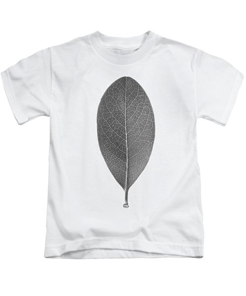 Indian Hawthorn Leaf Kids T-Shirt