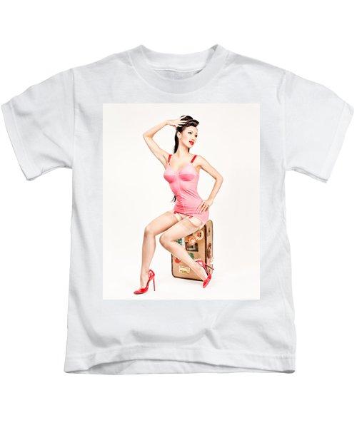 Jade Vixen Bubblegum 1076 Kids T-Shirt