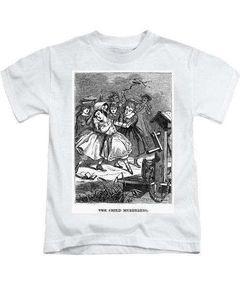Juvenile Crime, 1868 Kids T-Shirt