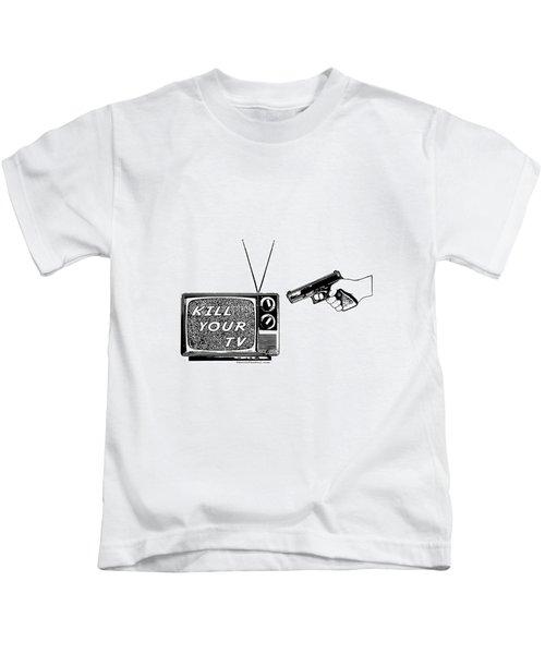 Kill Your Tv Kids T-Shirt