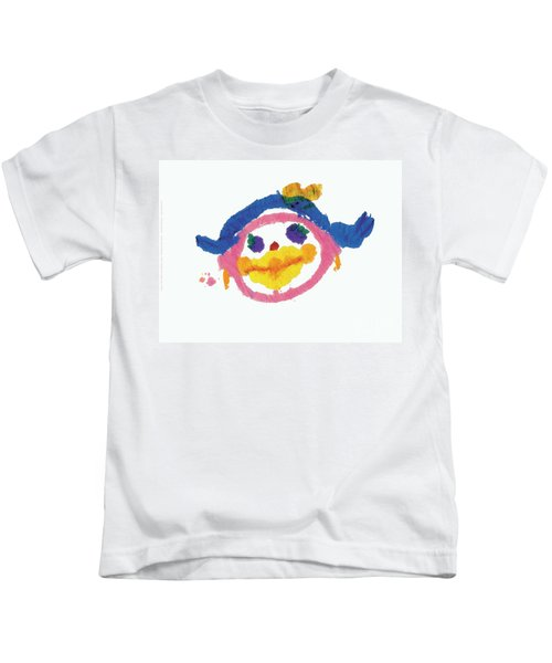 Lipstick Face Kids T-Shirt