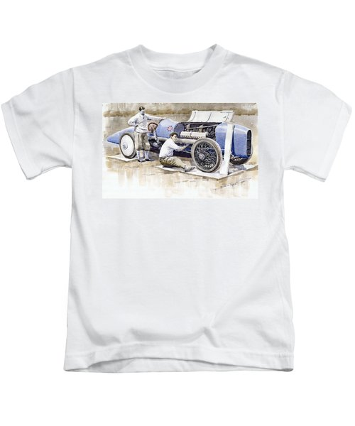Malcolm Campbell Sunbeam Bluebird 1924 Kids T-Shirt