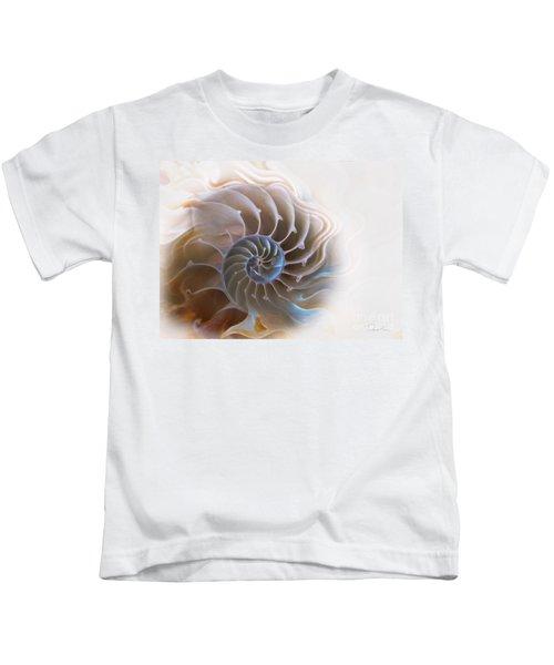Natural Spiral Kids T-Shirt